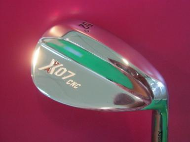 WEDGE T - ZOOM X-07 หน้าใบ SPIN MILLED (หน้าตะไบ)